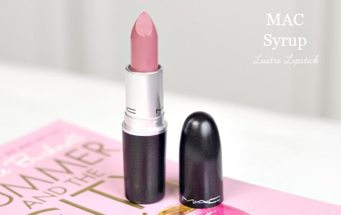 mac syrup lustre lipstick 6