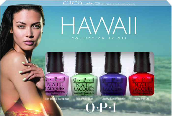 opi hawaii collection minis
