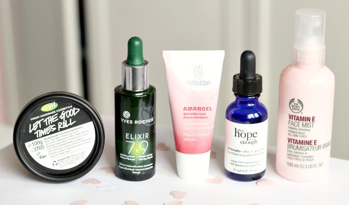 Producten tegen de droge huid