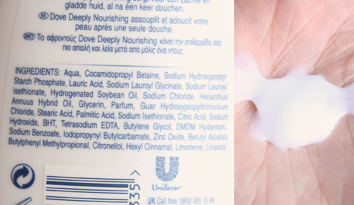 Dove Nutrium Moisture Body Wash – nieuwe formule