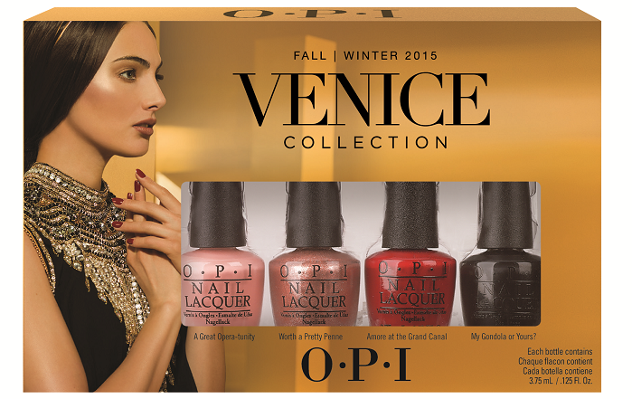 OPI Venice Collection (Fall & Winter 2015)
