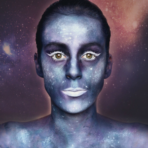 Filmpje: Galaxy Make Up (Halloween tutorial)