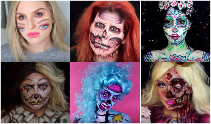 De tofste Halloween tutorials!
