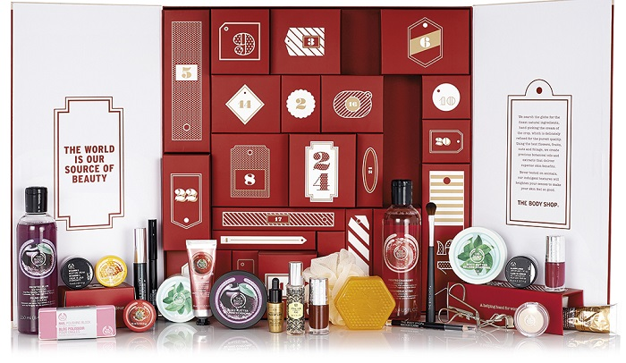 the body shop christmas collection advent
