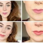 KIKO Velvet Mat Lipstick & Smooth Temptation Lipstick