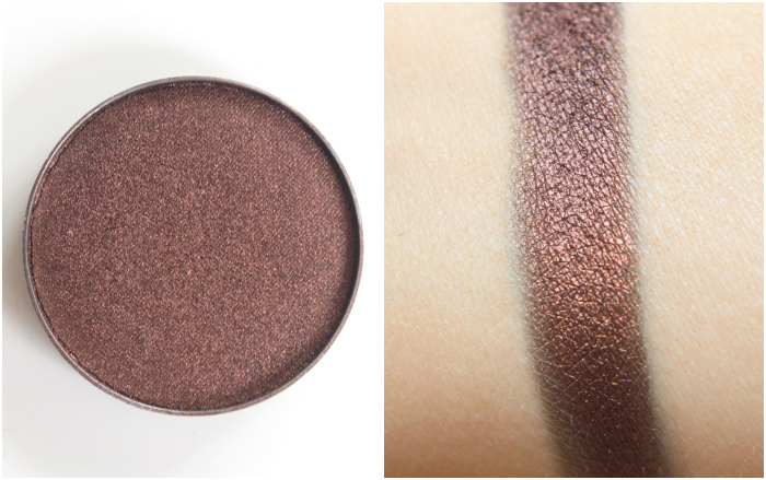Frappe – Makeup Geek is a stunning warm brown colour. The warmth in this shade makes light coloured eyes look gorgeous, and is perfect for smoking out from the crease. The warmth in this shade makes light coloured eyes look gorgeous, and is perfect for smoking out from the crease.