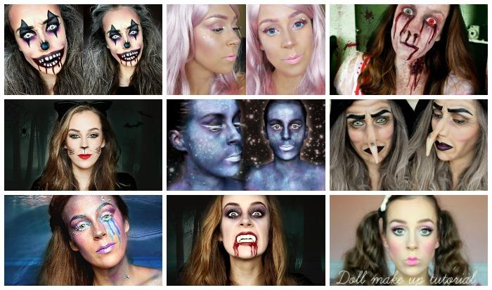 Al mijn Halloween tutorials tot nu toe! || OVERZICHT