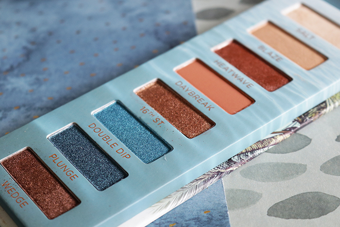 urban decay beached eyeshadow palette 13