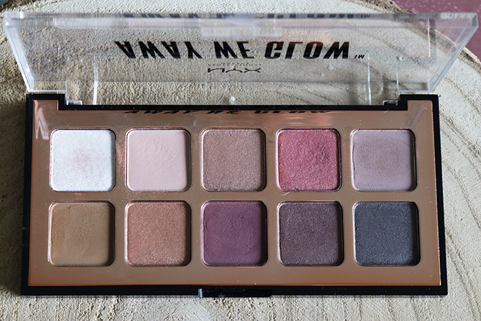 NYX Away We Glow Eyeshadow Palettes