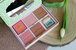 Benefit Cheekleaders Blush, Bronze & Highlight Palette