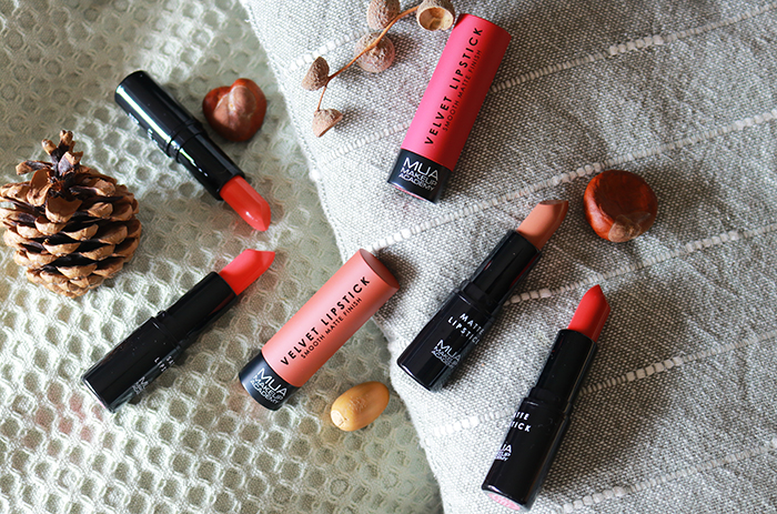 MUA lipsticks – 3 vegan & cruelty free formules!
