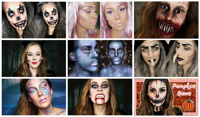 Halloween make-up inspiratie nodig? || Al mijn Halloween tutorials onder elkaar!