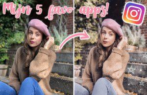 5 Musthave apps voor Instagram foto's!