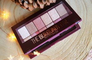 Maybelline The Burgundy Bar Eyeshadow Palette