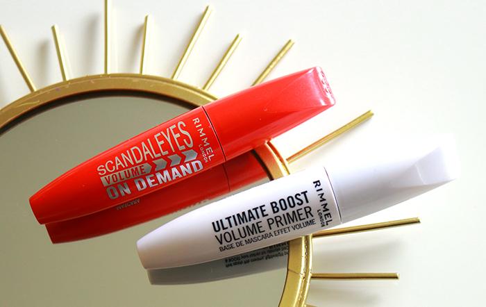 Rimmel Ultimate Boost Volume Primer & Scandaleyes Volume On Demand Mascara