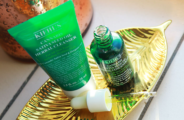 Kiehl's Cannabis Sativa Seed Oil Herbal Cleanser & Concentrate