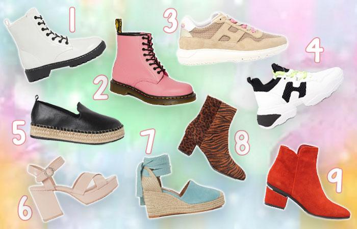 9x de tofste schoenen voor het voorjaar